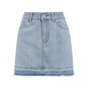 Hippie Jean Skirt
