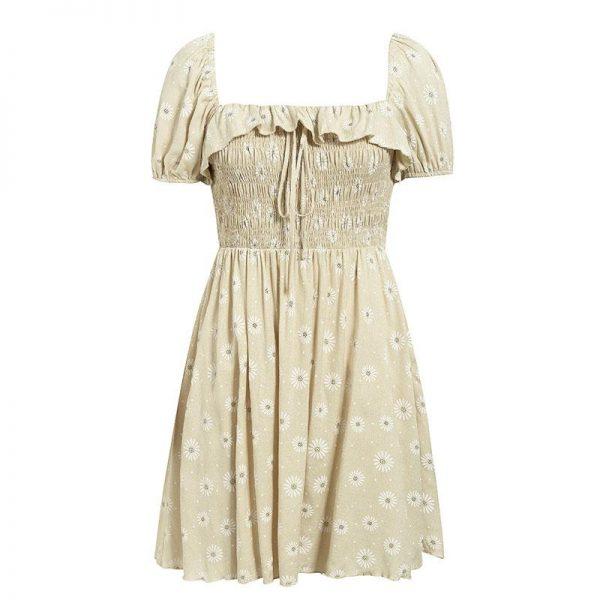 Little Bohemian Flowery Summer Dress