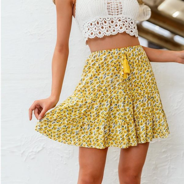 Bohemian Spirit Short Skirt