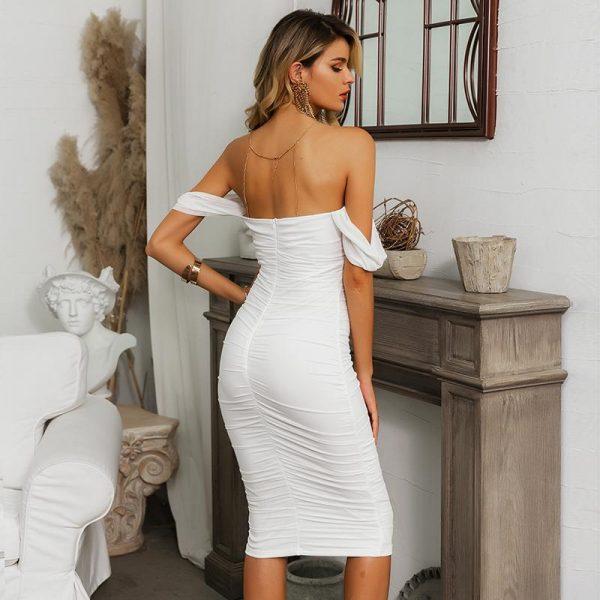 White Bohemian Short Dress