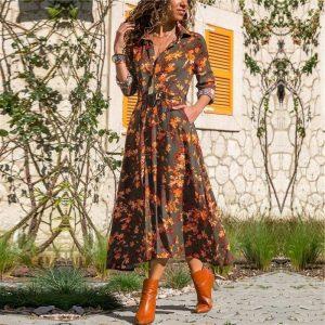 Oriental bohemian dress