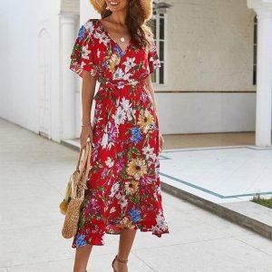 Bohemian dress canada
