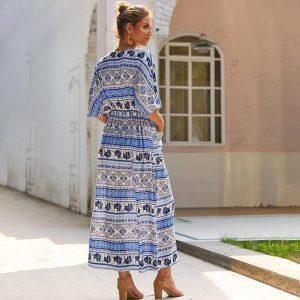 Bohemian maxi dress fall 2018