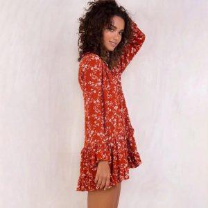 Swiss bohemian chic dress