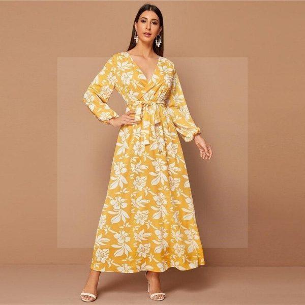Bohemian flower dress