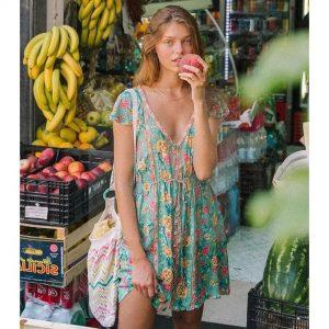 Italian bohemian dress