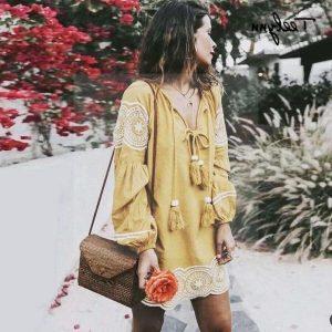Bohemian summer dress
