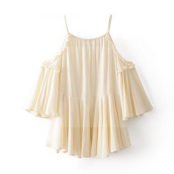 White bohemian beach dress