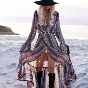 Bohemian summer maxi dress 2017