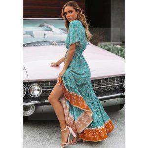 Bohemian Indian long dress