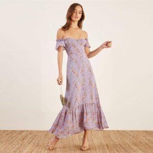 Bohemian trendy long dress